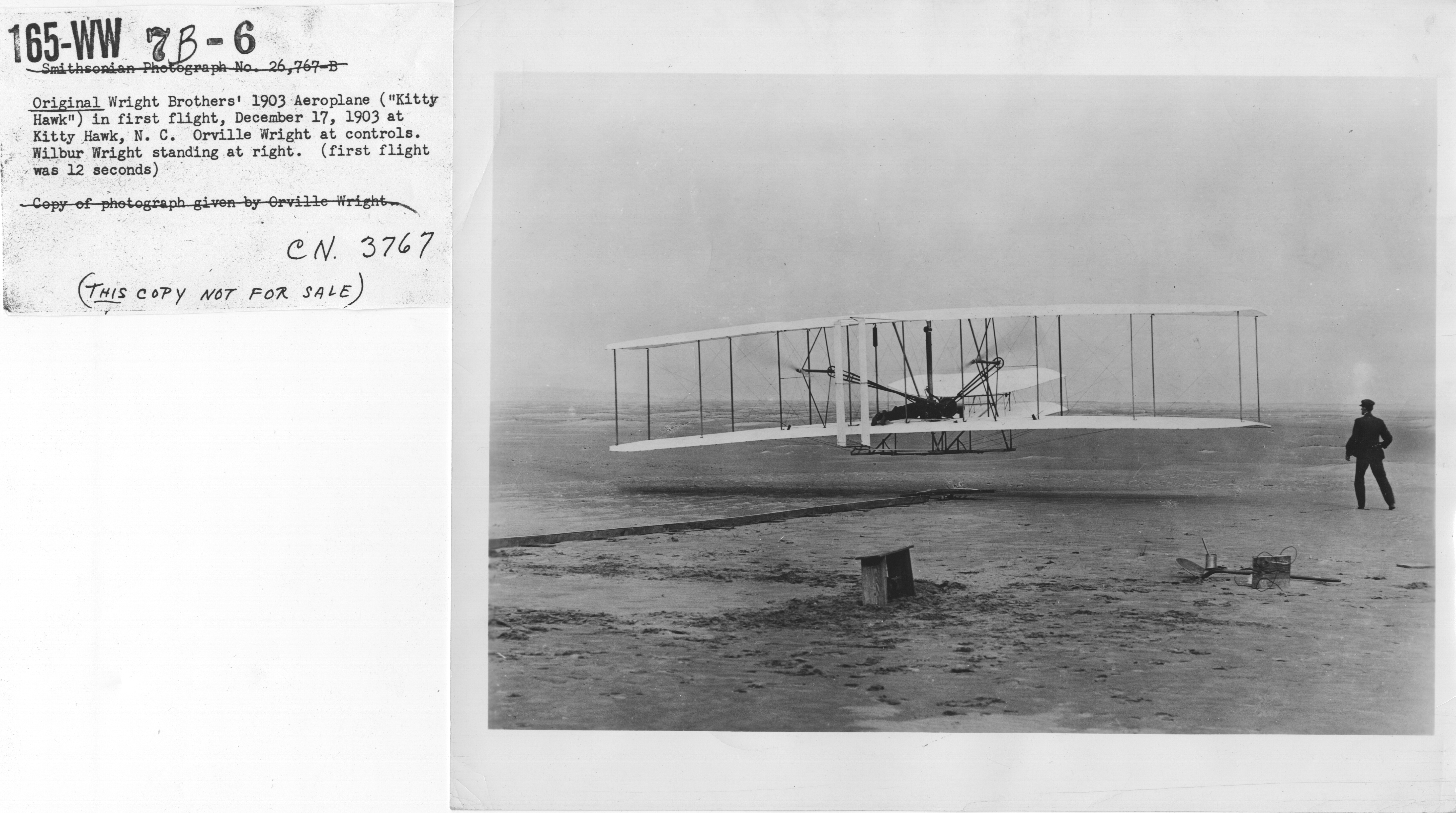 First Flight Kitty Hawk 1903 regarding file:airplanes - historical - wright brothers' 1903 aeroplane
