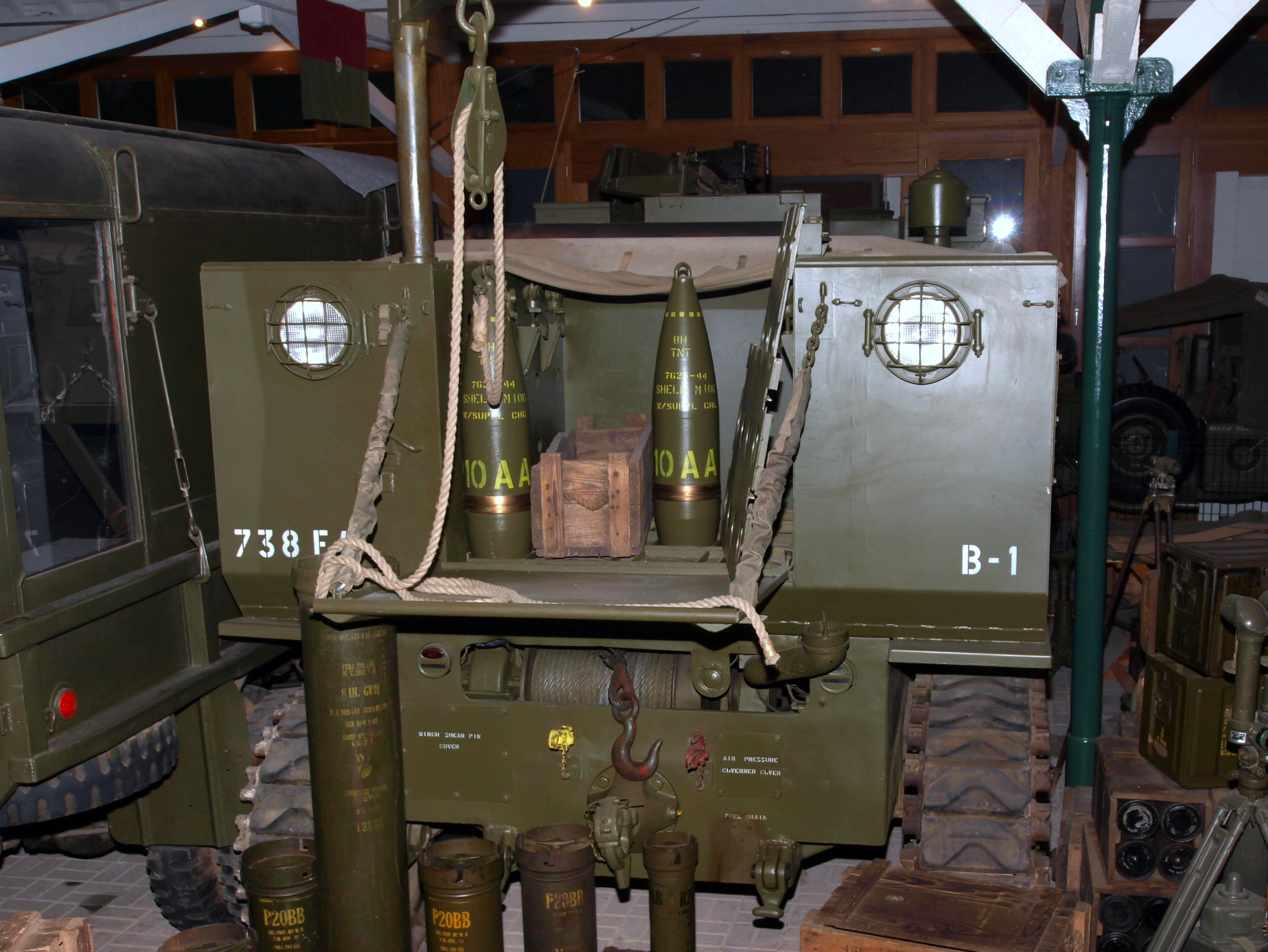 8-inch High Explosive M106 Shells