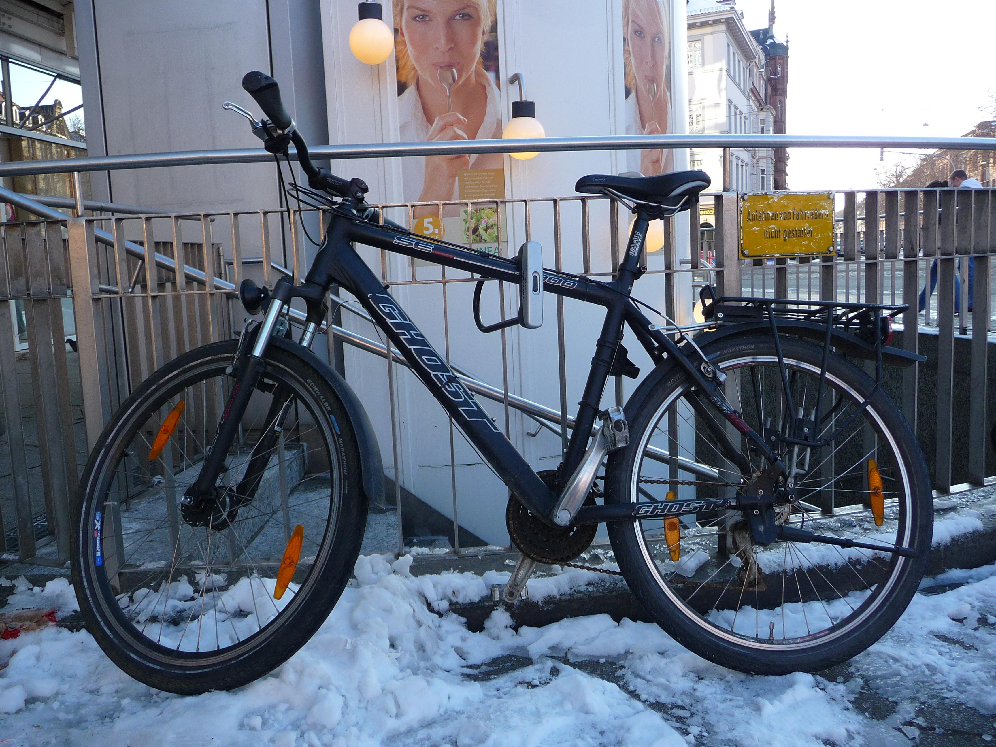 Fahrrad Rhein
