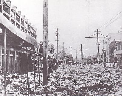 Anti-Chinese riots in Pyongyang, Korea in the aftermath of the Wanpaoshan Incident Anti-China riot in Heijo.JPG