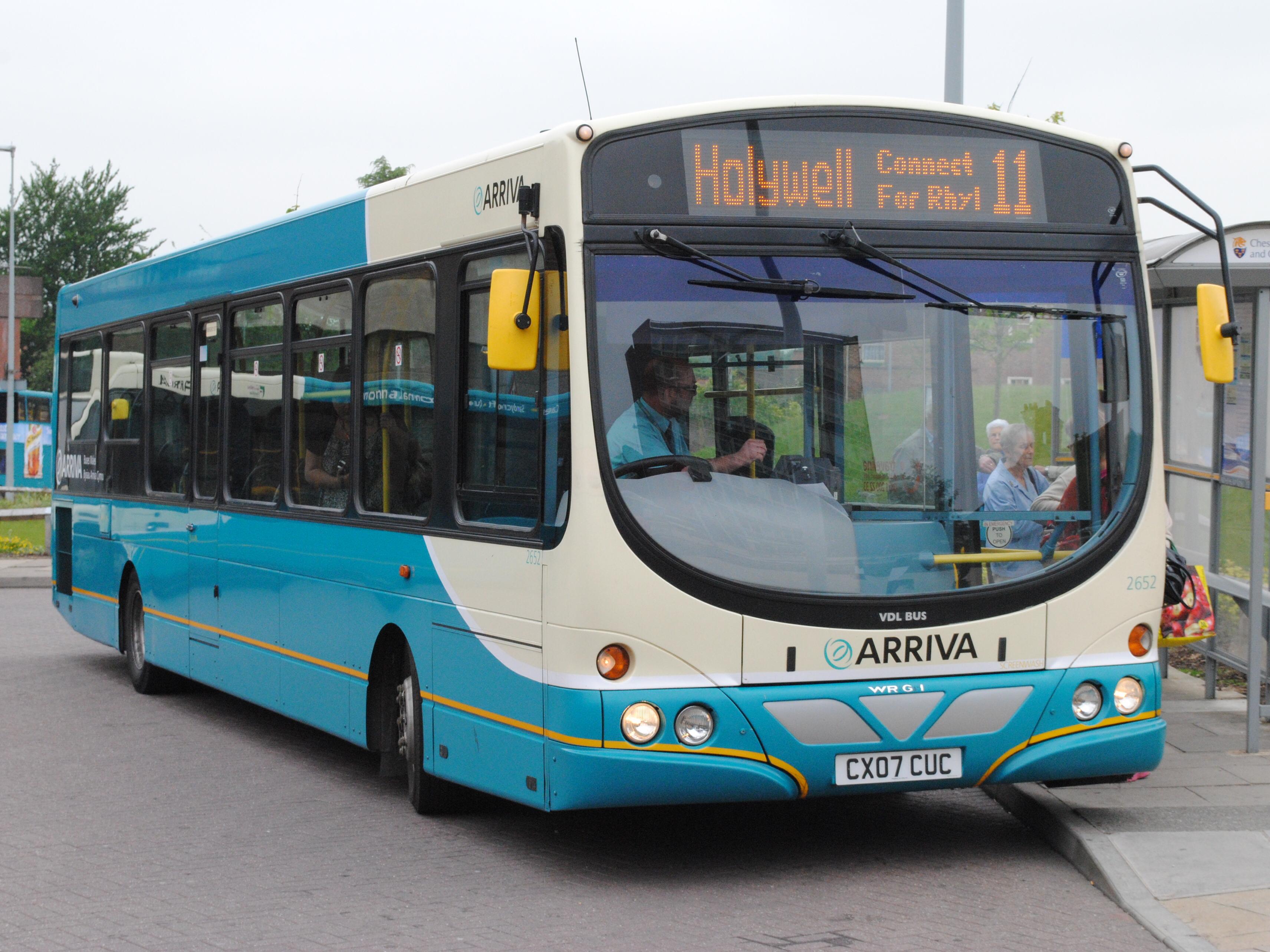 File:Arriva Buses Wales Cymru 2652 CX07CUC (8989347694).jpg