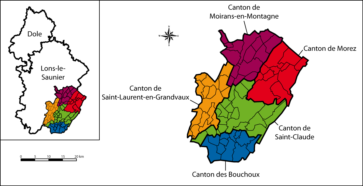 Arrondissement of Saint-Claude #