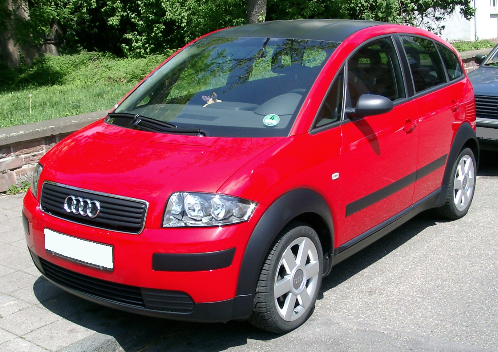 File Audi A2 Front 20080705 Jpg Wikimedia Commons