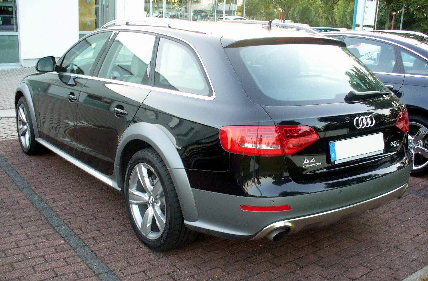 audi a4 allroad quattro 2 0 tfsi. Black Bedroom Furniture Sets. Home Design Ideas