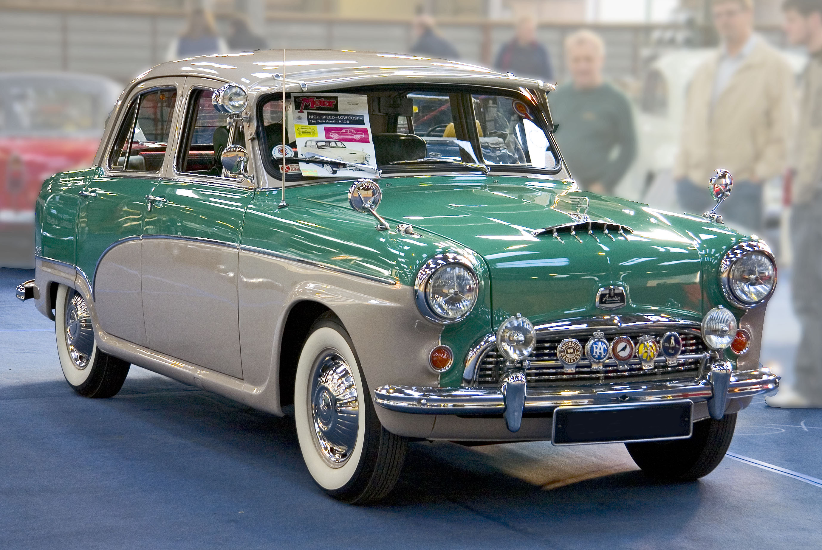 Cars Under 100 >> File:Austin A105 Westminster 1956 front.jpg - Wikimedia Commons