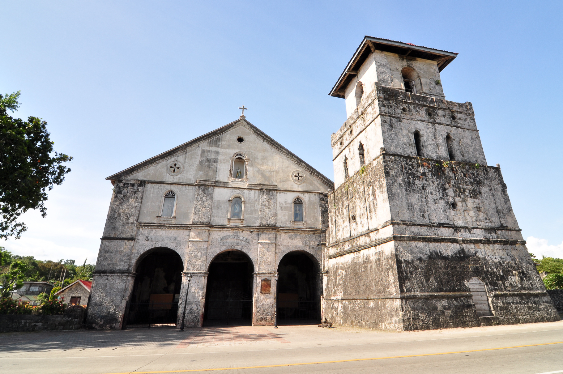 Baclayon Philippines  City pictures : Baclayon Church Wikimedia Commons