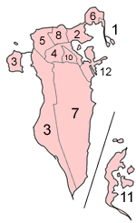 Bahrain municipalities numbered.png