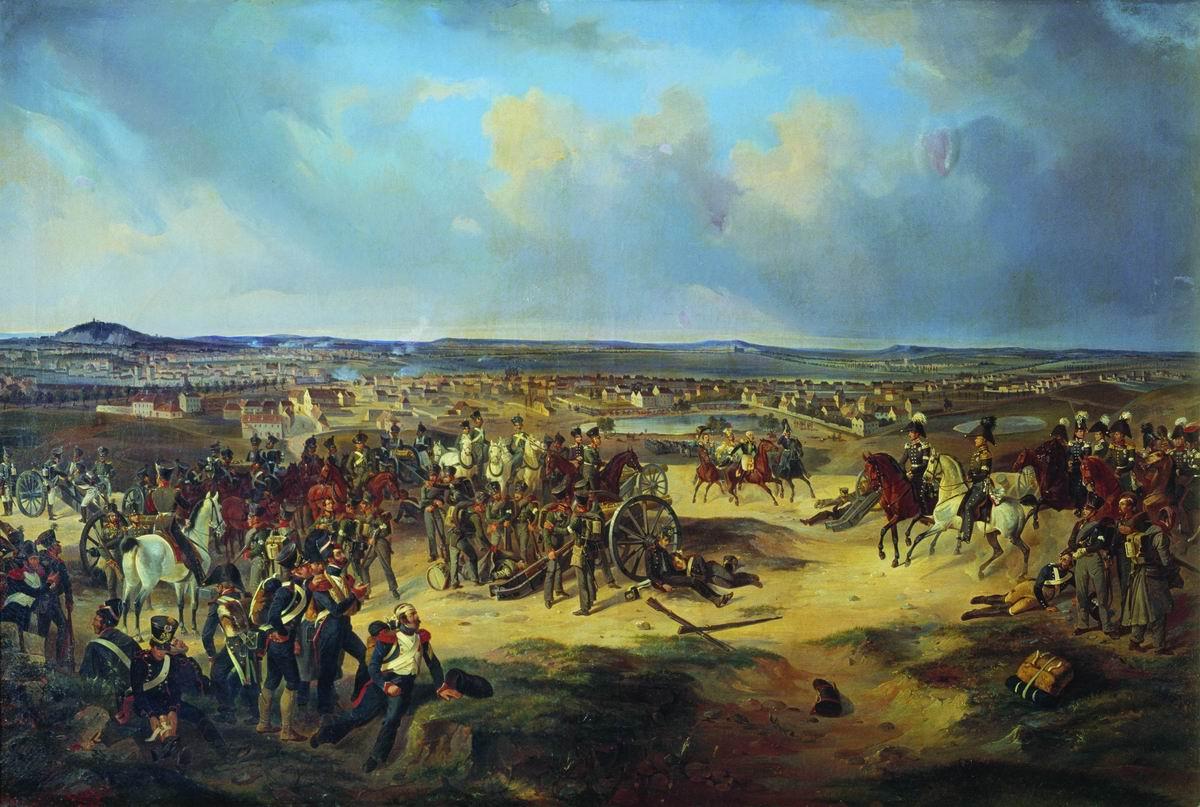 Битва за Париж 1814 г. Автор Villevalde.jpg