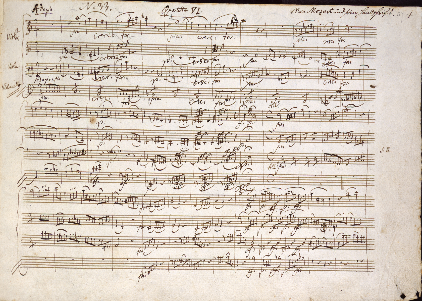 List of compositions by Wolfgang Amadeus Mozart