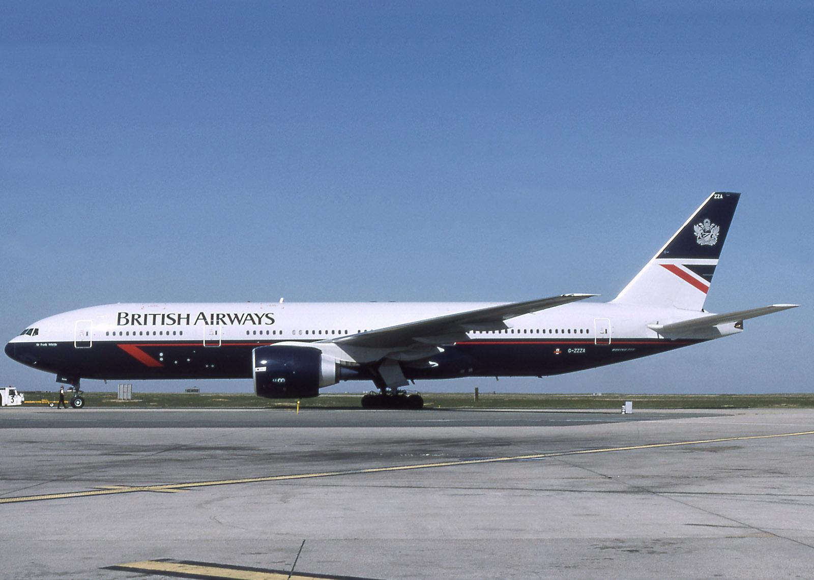 File British Airways Boeing 777 200 G Zzza Gilliand Jpg