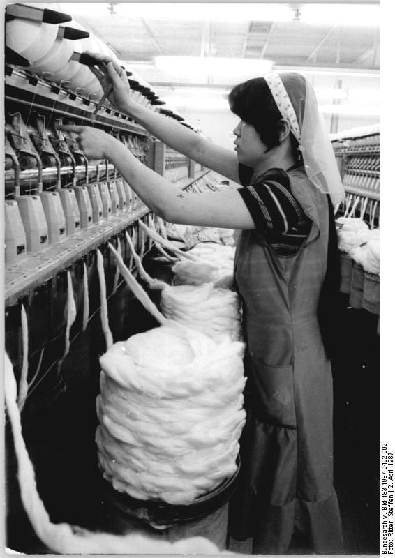 Textilfacharbeiter