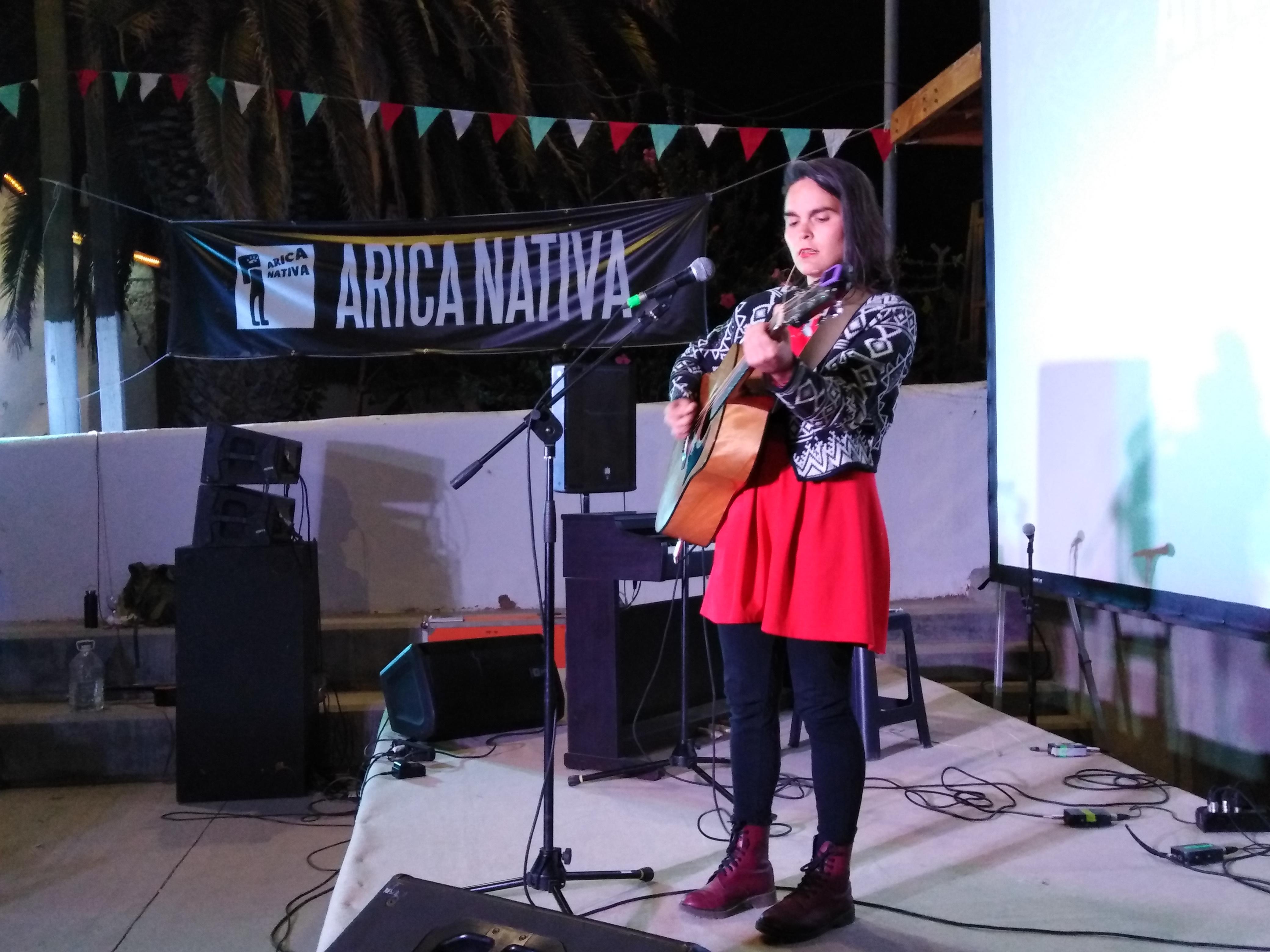 Camila Moreno en Arica Nativa (2018)
