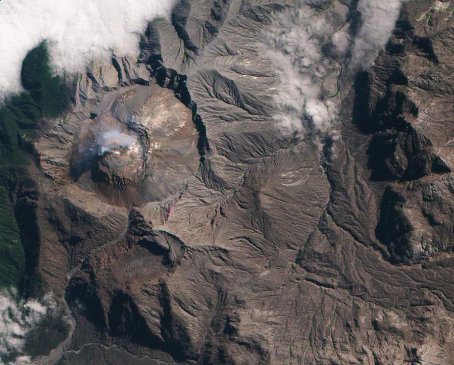 Извержение чилийского вулкана