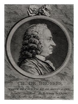 Charles de Brosses - Charles Nicolas Cochin II