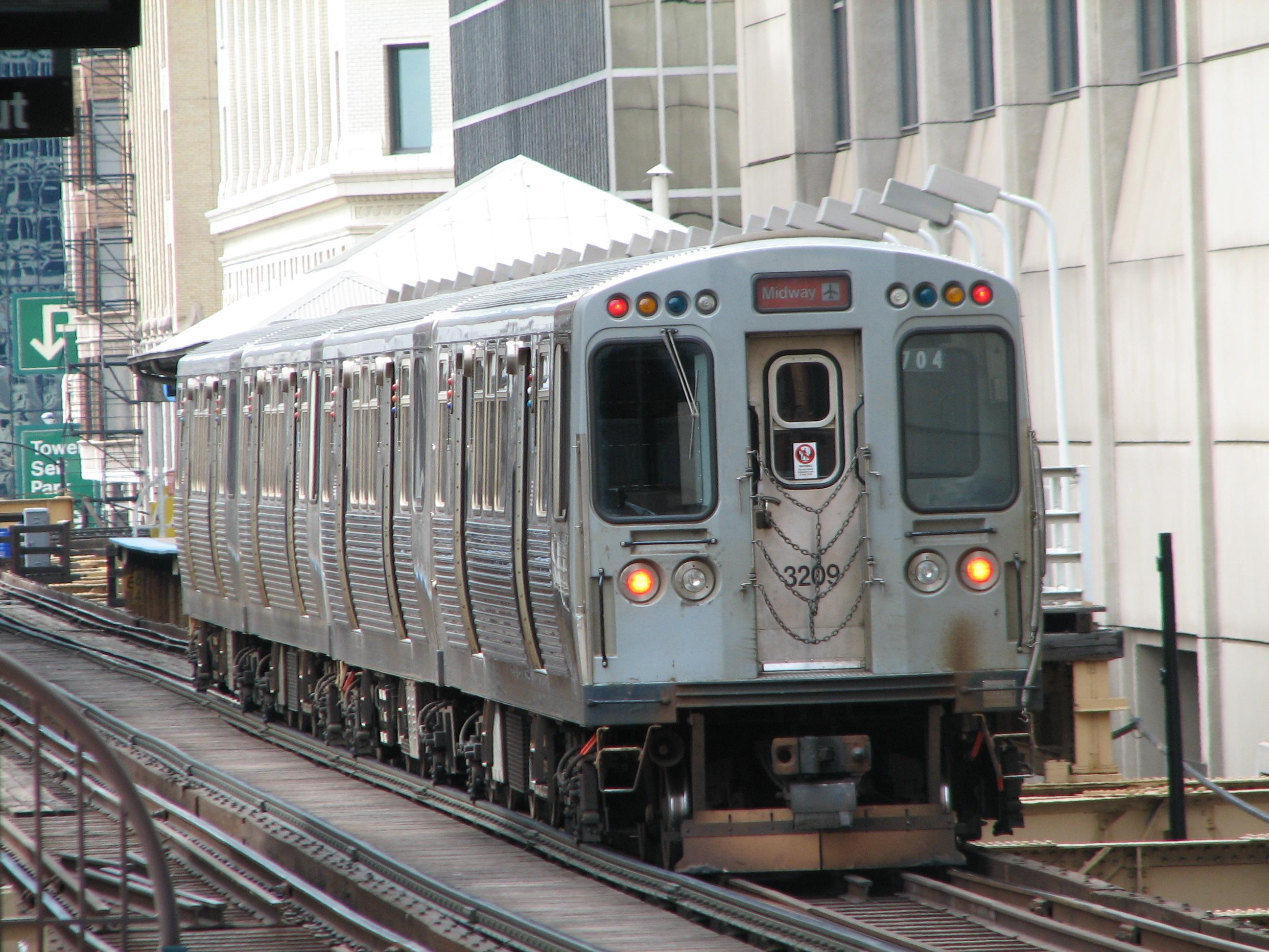 Chicago train
