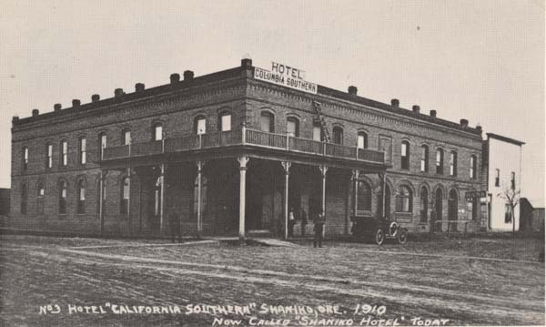 File Columbia Southern Hotel 1910 Shaniko Oregon Jpg
