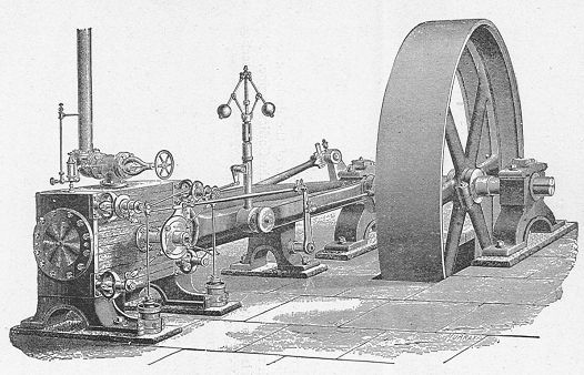 Fitxer:Corliss engine, showing valvegear (New Catechism of the Steam Engine, 1904).jpg