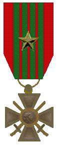 Croix de Guerre 1940 - 1945