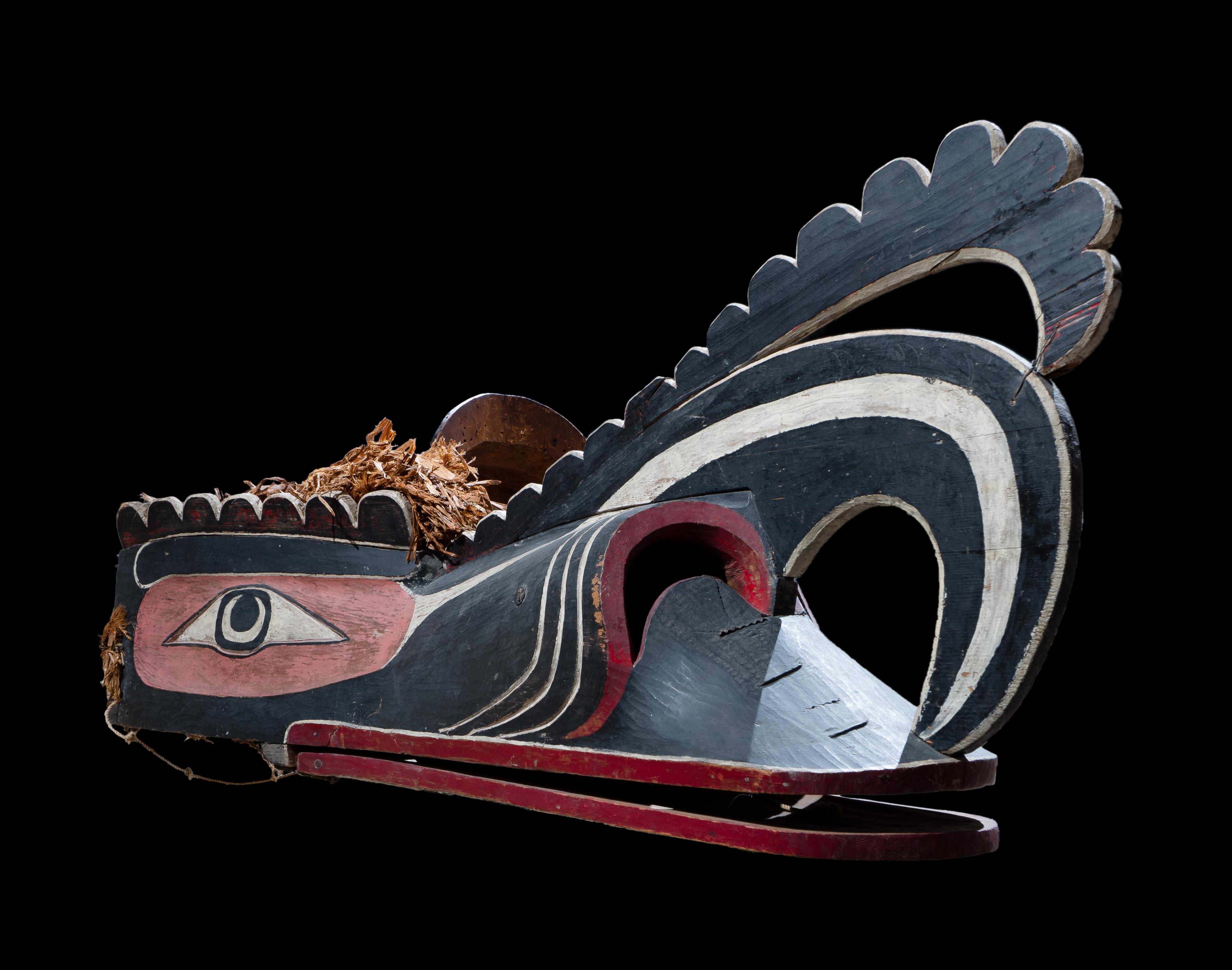 Crooked Beak of Heaven Mask, Kawakwaka'wakw, British Columbia