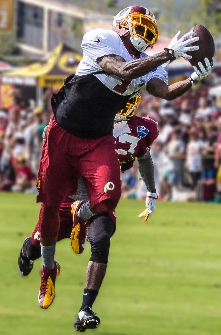 File:DeSean Jackson Redskins training camp Cropped.jpg ...