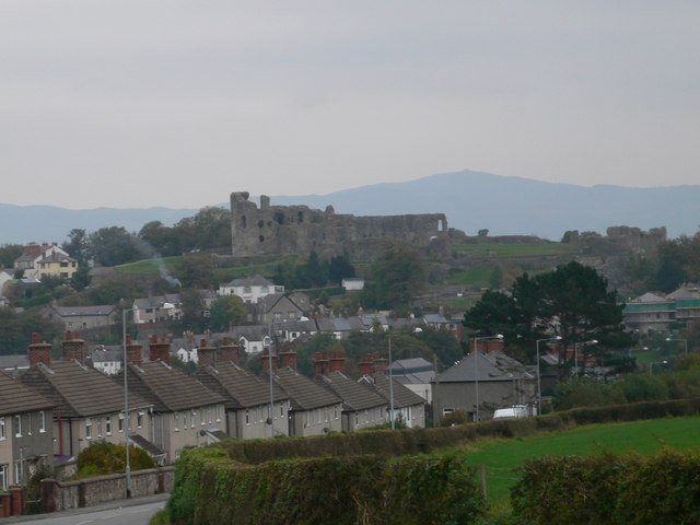 Denbigh and its Castle - geograph.org.uk - 595409