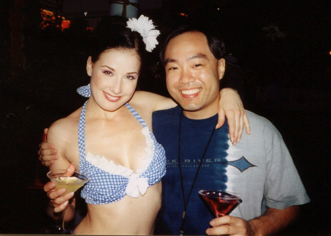 Dita Von Teese and French aristocrat Louis Marie de Castelbajac have been dating since Ap They made their public debut at the Coachella music.