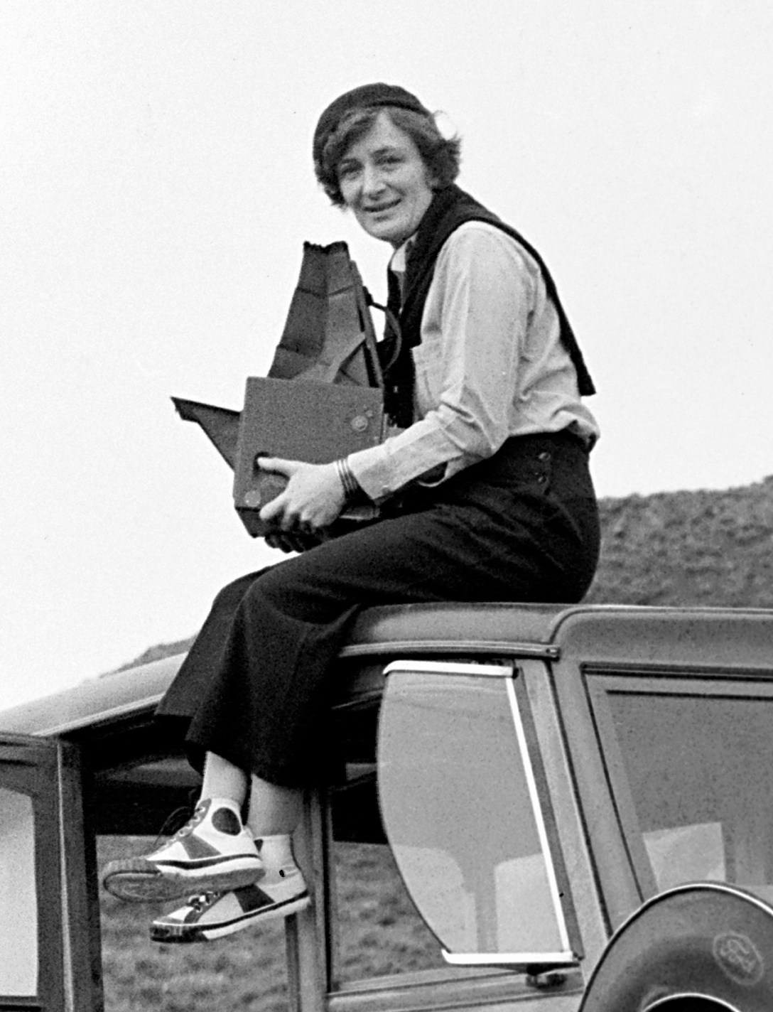 Image of Dorothea Lange from Wikidata
