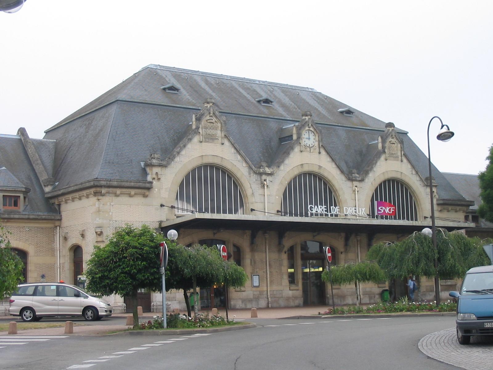 Vue Gare De Valance Ville Plan