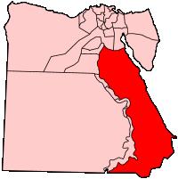 エル-バハール・エル-アフマル県の県域