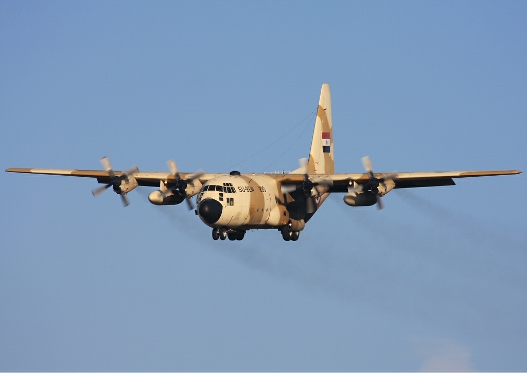 C-130H used by the Egyptian C 130 Military Transport Aircraft