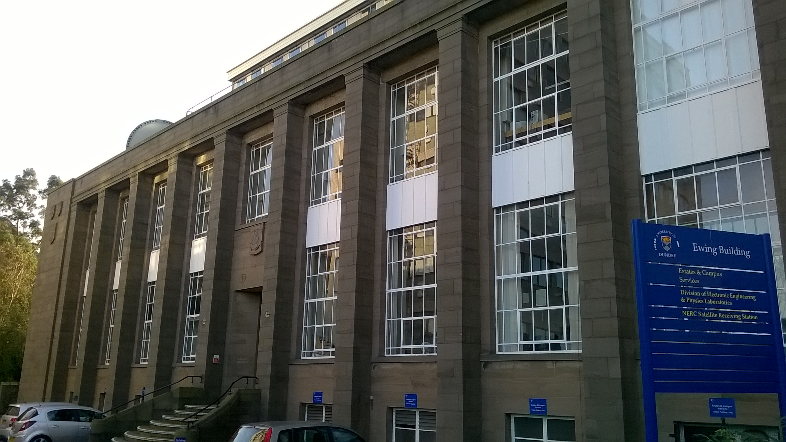 Ewing Building Dundee University