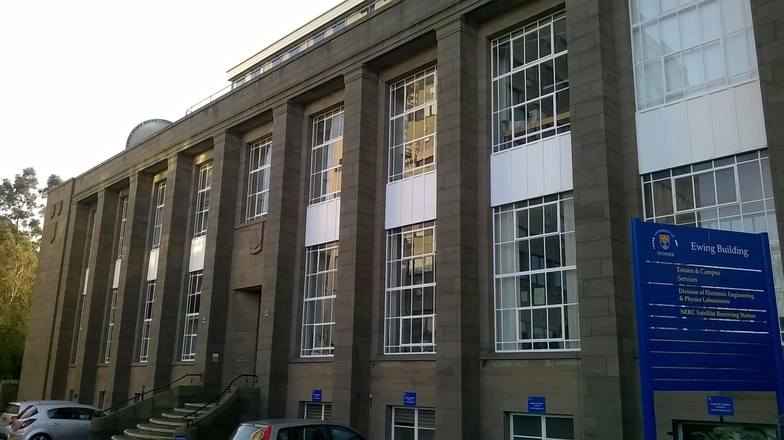 Dundee University Fulton Building