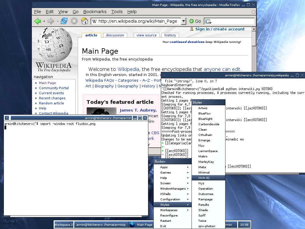 Fluxbox Wikipedia