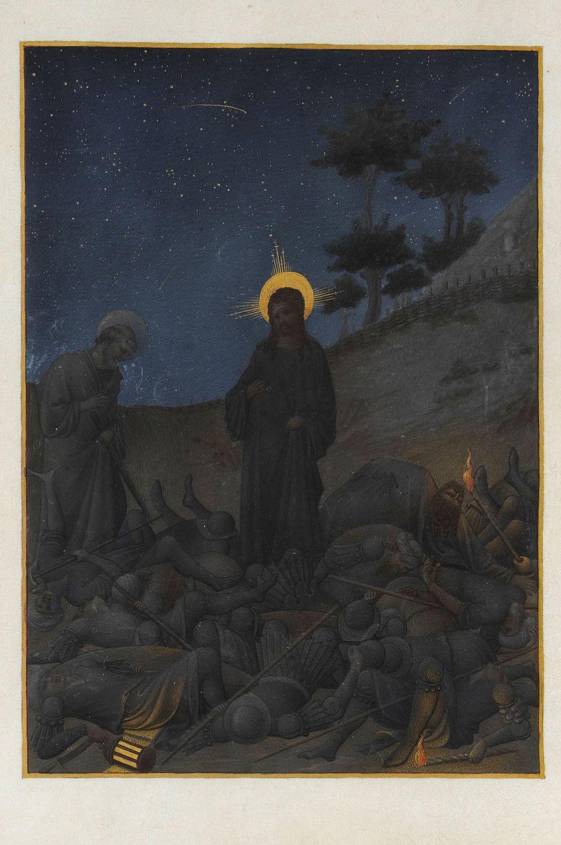 Unam sanctam lenten meme - Jesus in the garden of gethsemane ...