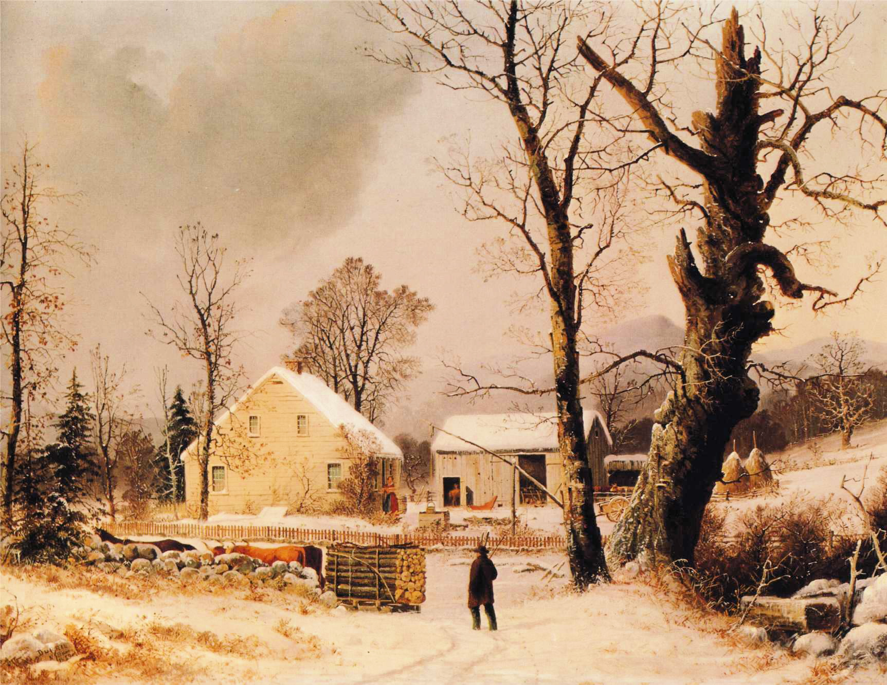 Painting Winter Scenes In Acrylics