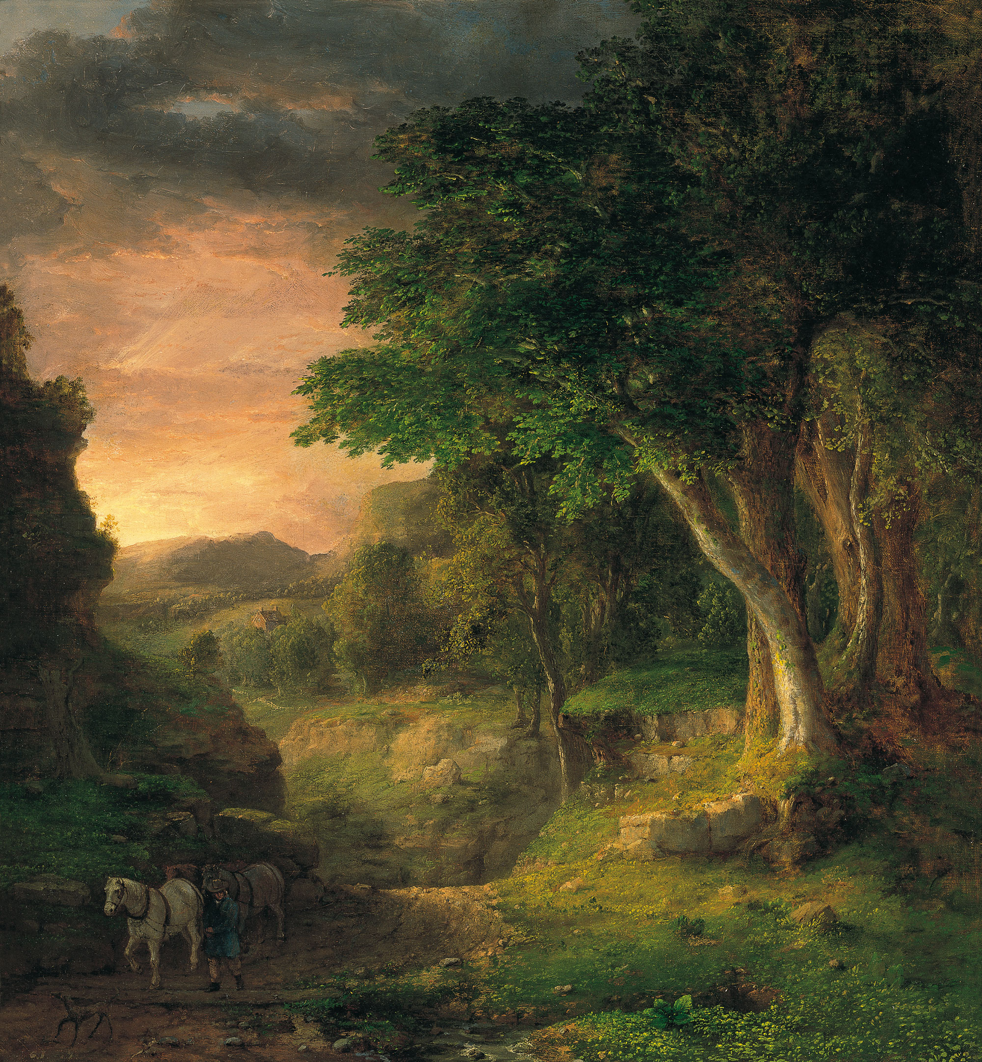 File george inness in the wikimedia commons for The berkshire