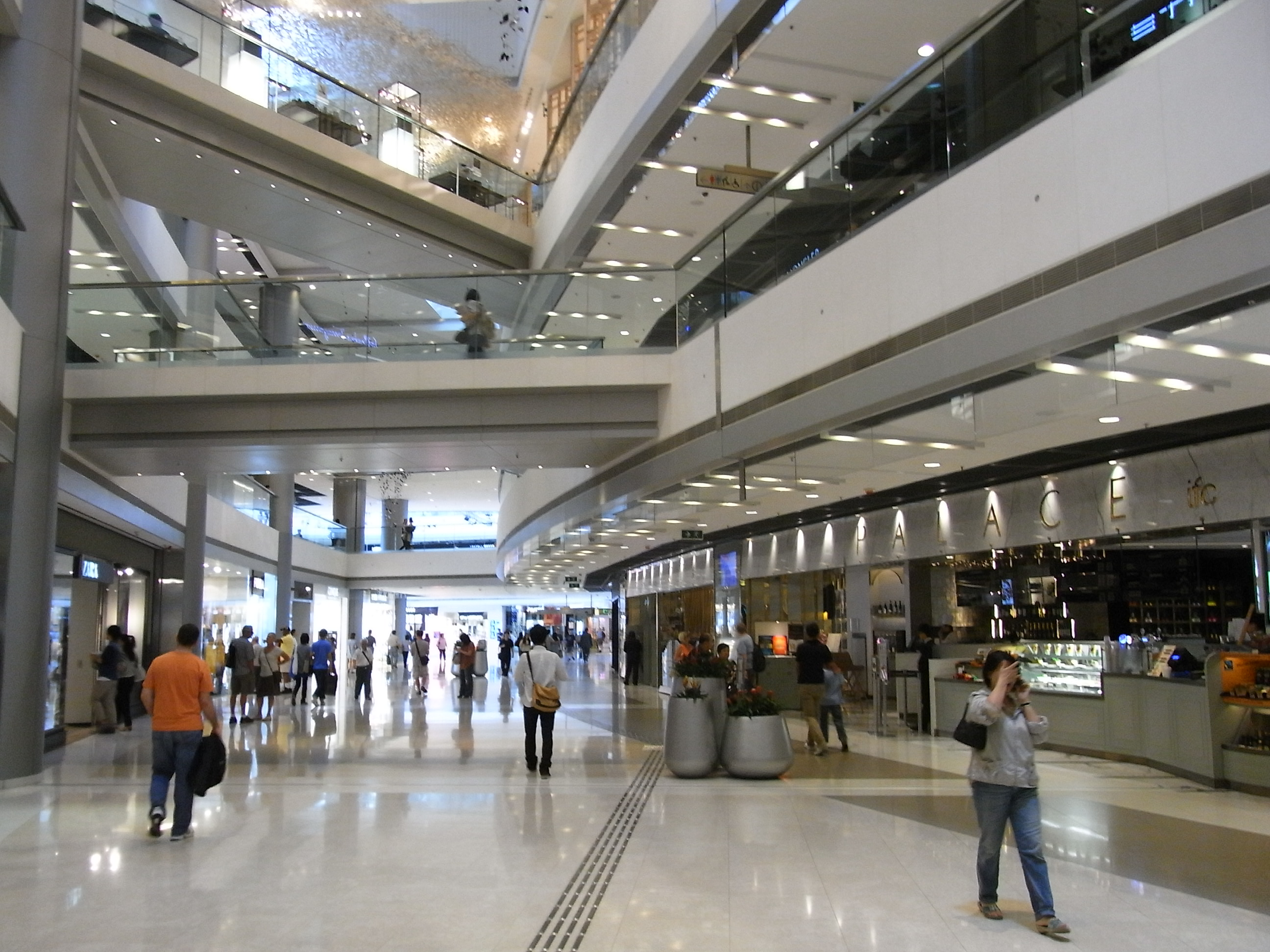 File:HK Central IFC Mall interior visitors May-2012.JPG ...