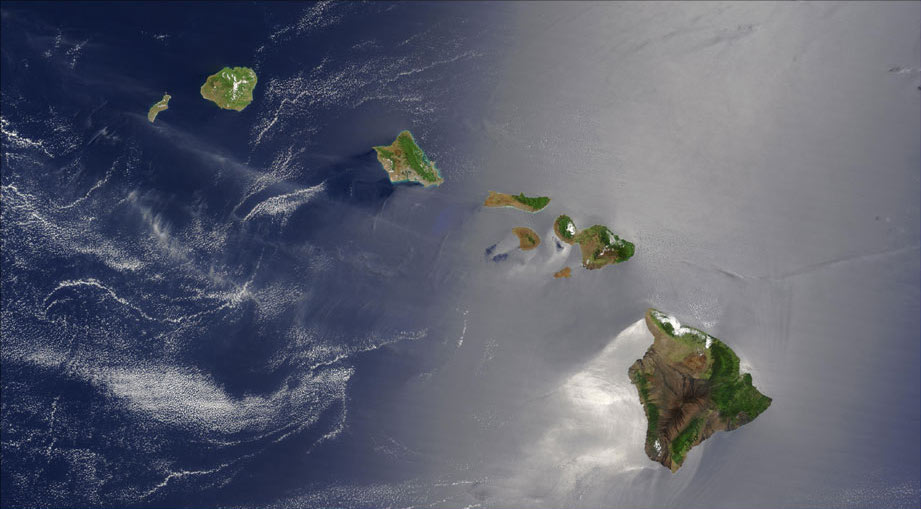 pics of hawaiian islands. File:Hawaiian Islands satellite.jpg