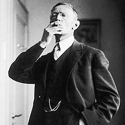 German author Hermann Hesse