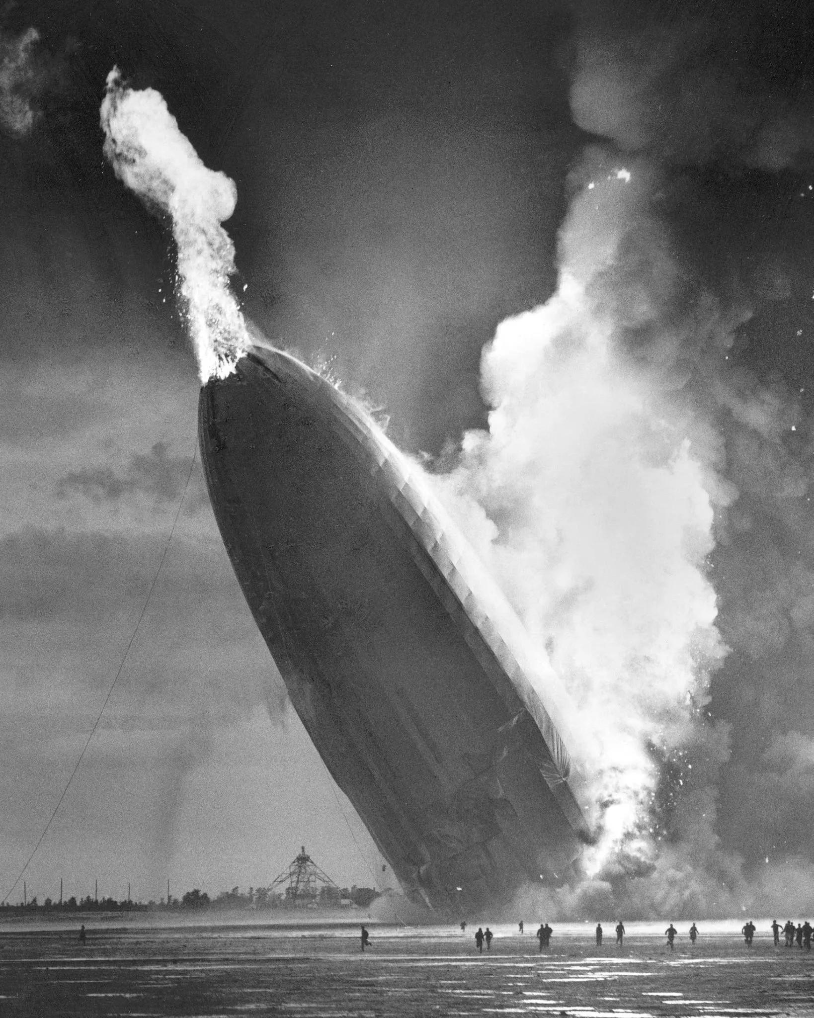 le désastre du Hindenburg