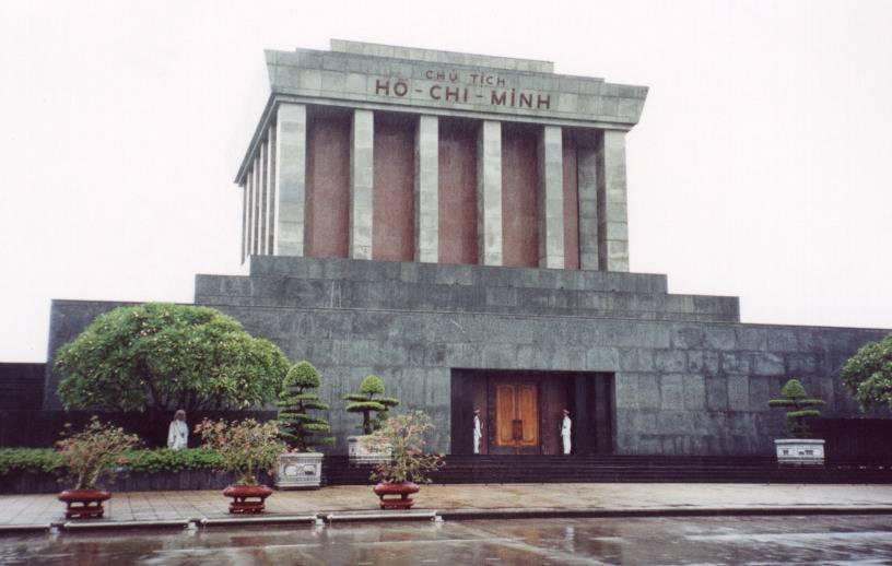 Mausoleo de Hồ Chí Minh en Hanói.