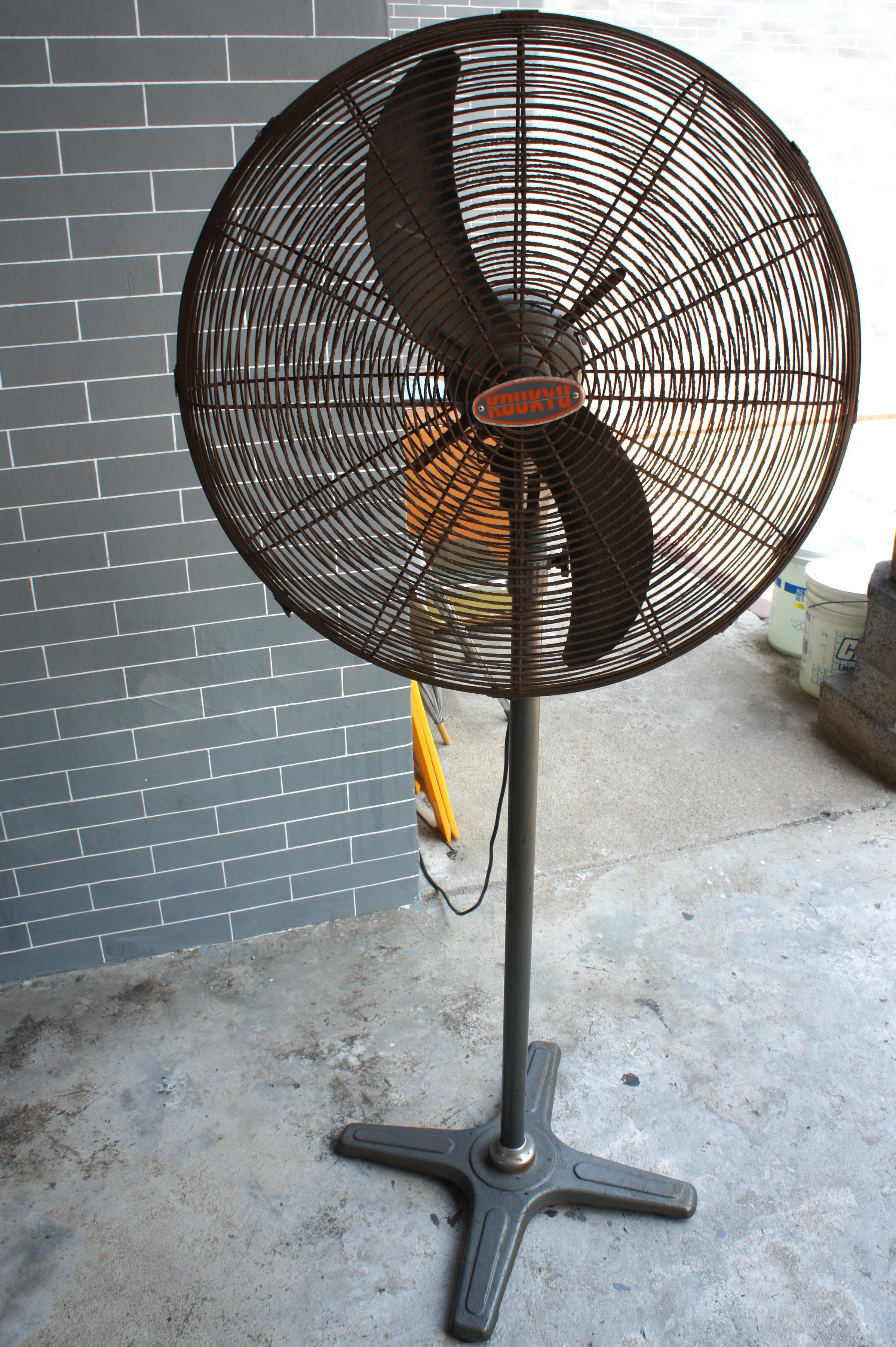 Industrial Stand Fan : File industrial pedestal fan g
