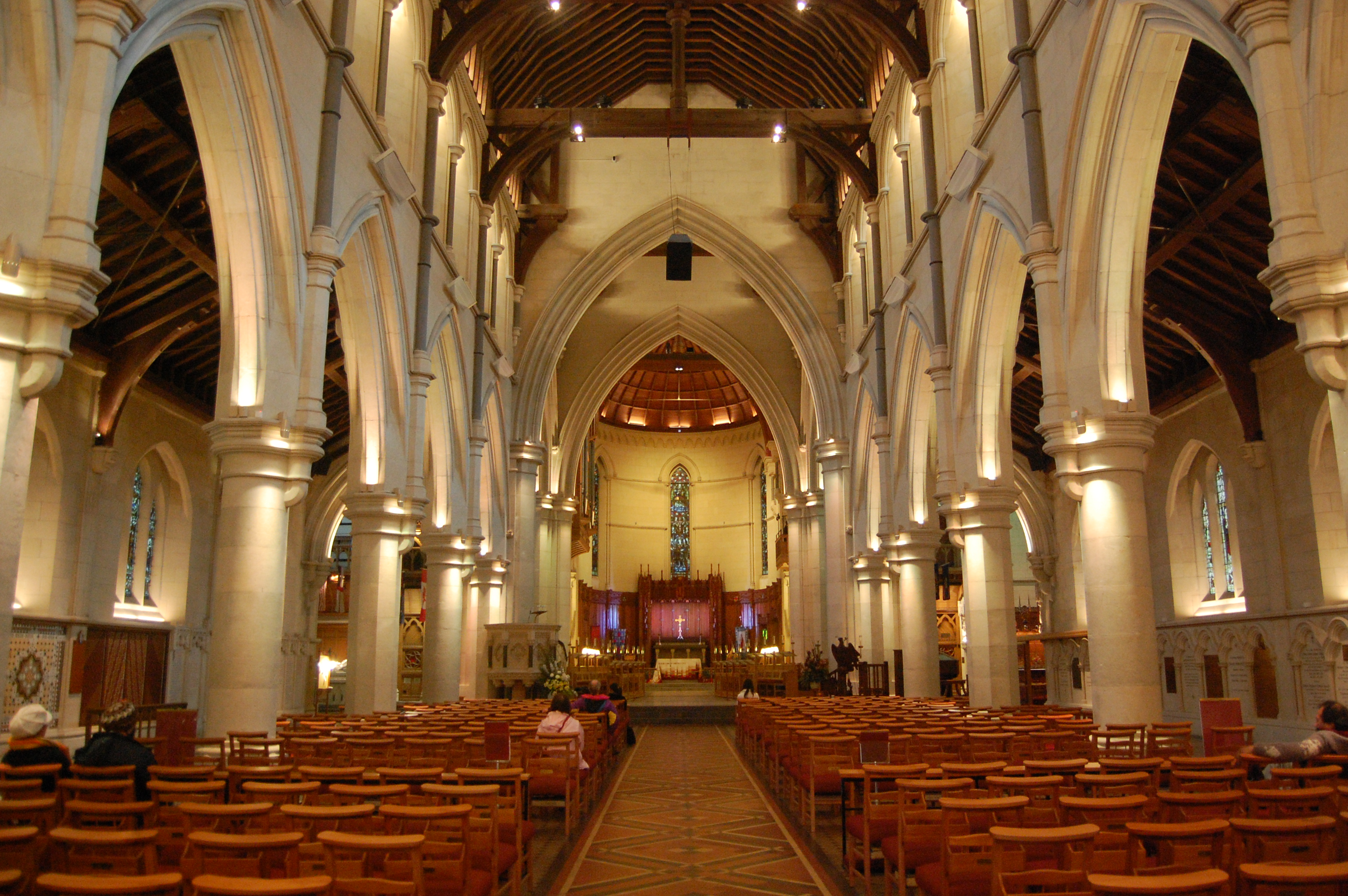 File Inside Christchurch Cathedral 4666778790 Jpg