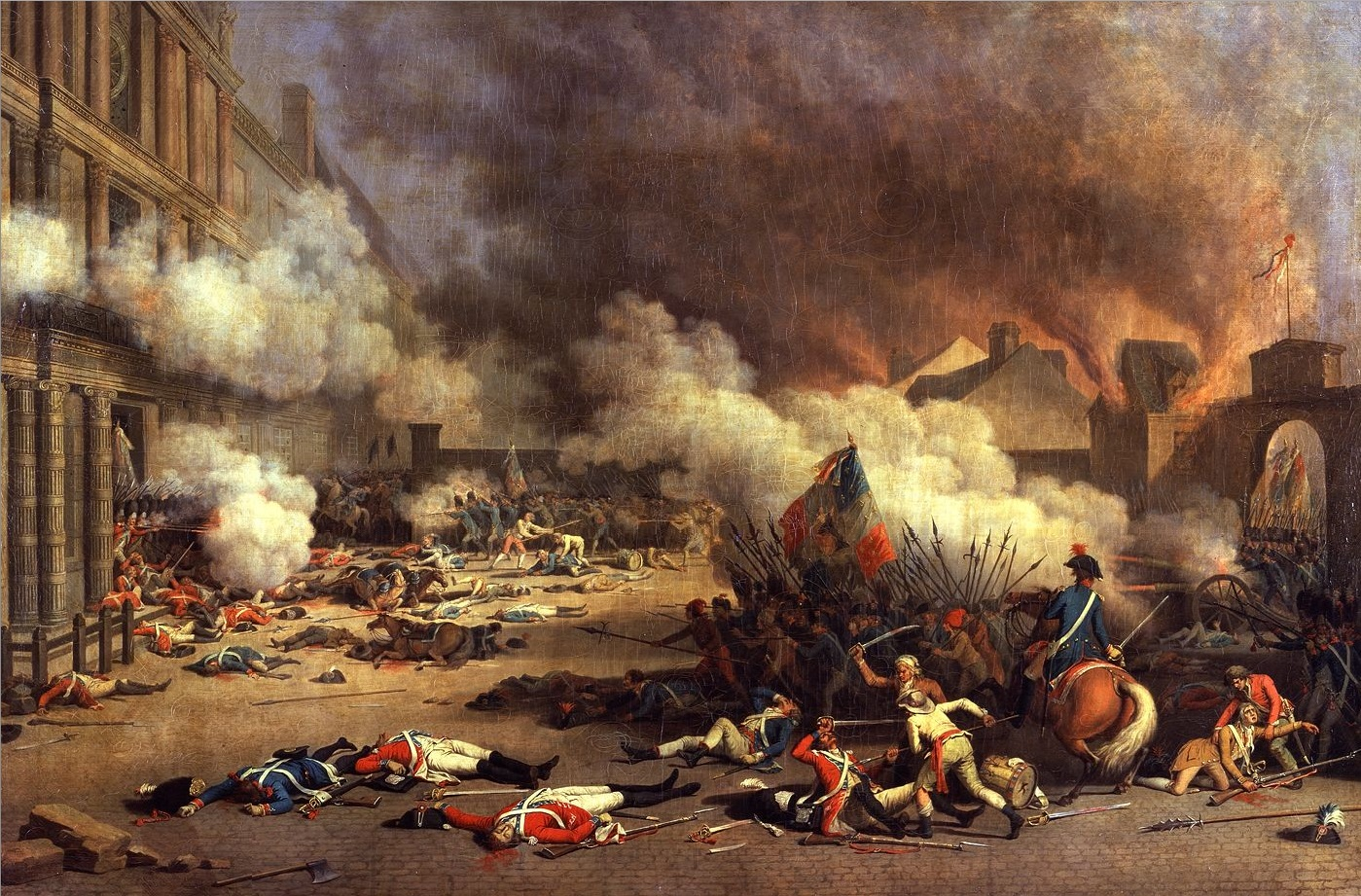 french revolution simple english the encyclopedia the paris commune attacks the tuileries
