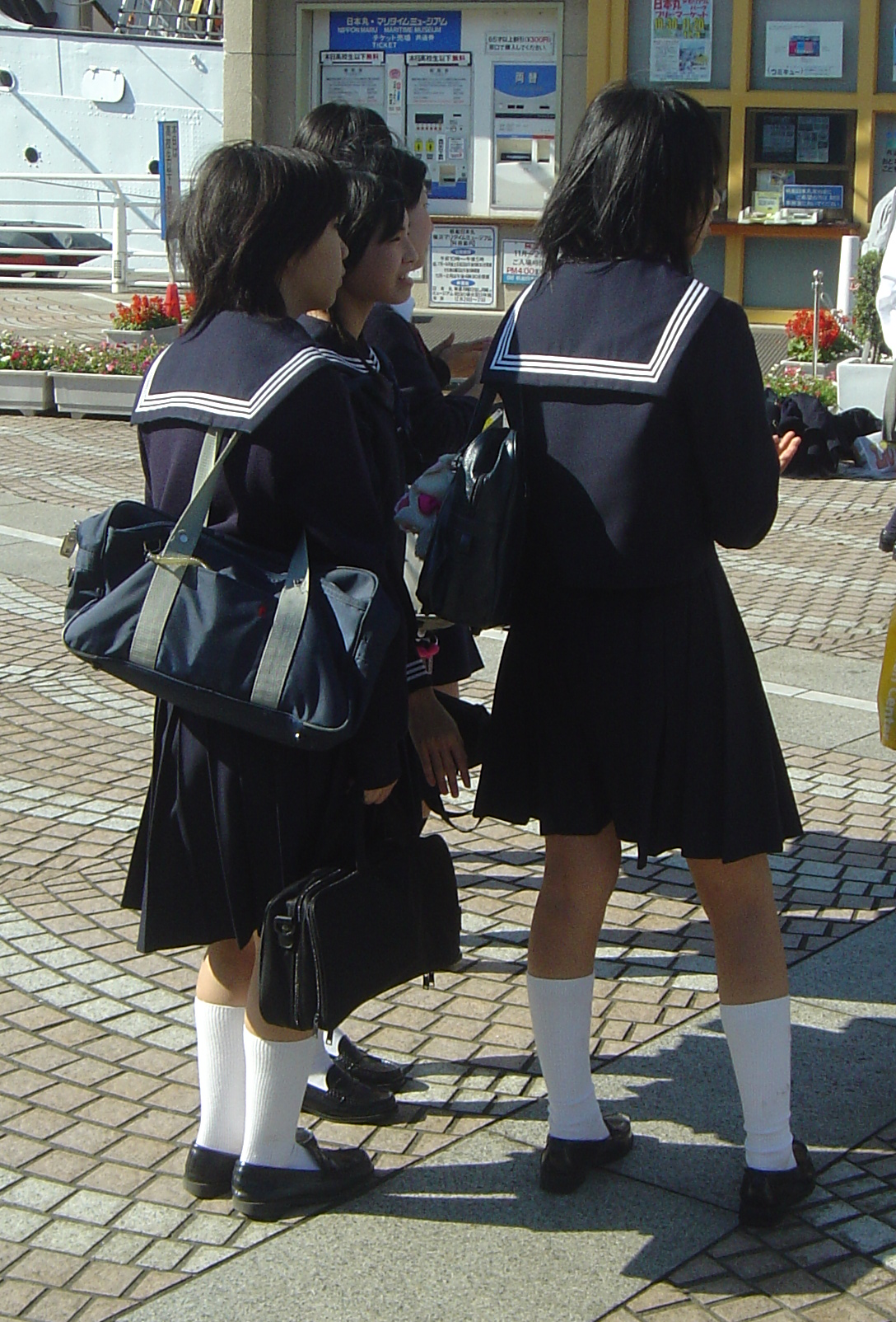 Junior high boy dating elementary school girl