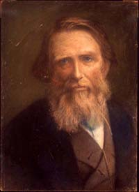 Portrait of John Ruskin after Herkomer
