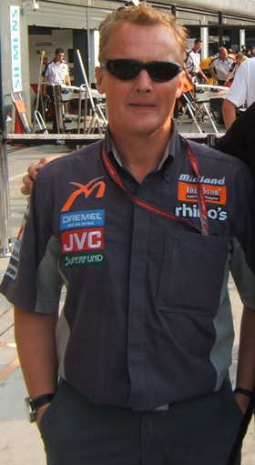 Johnny Herbert in Monza 2006