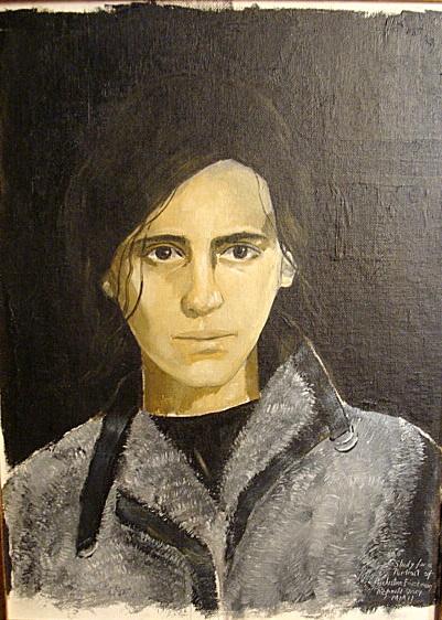 Justine Frischmann by Reginald Gray