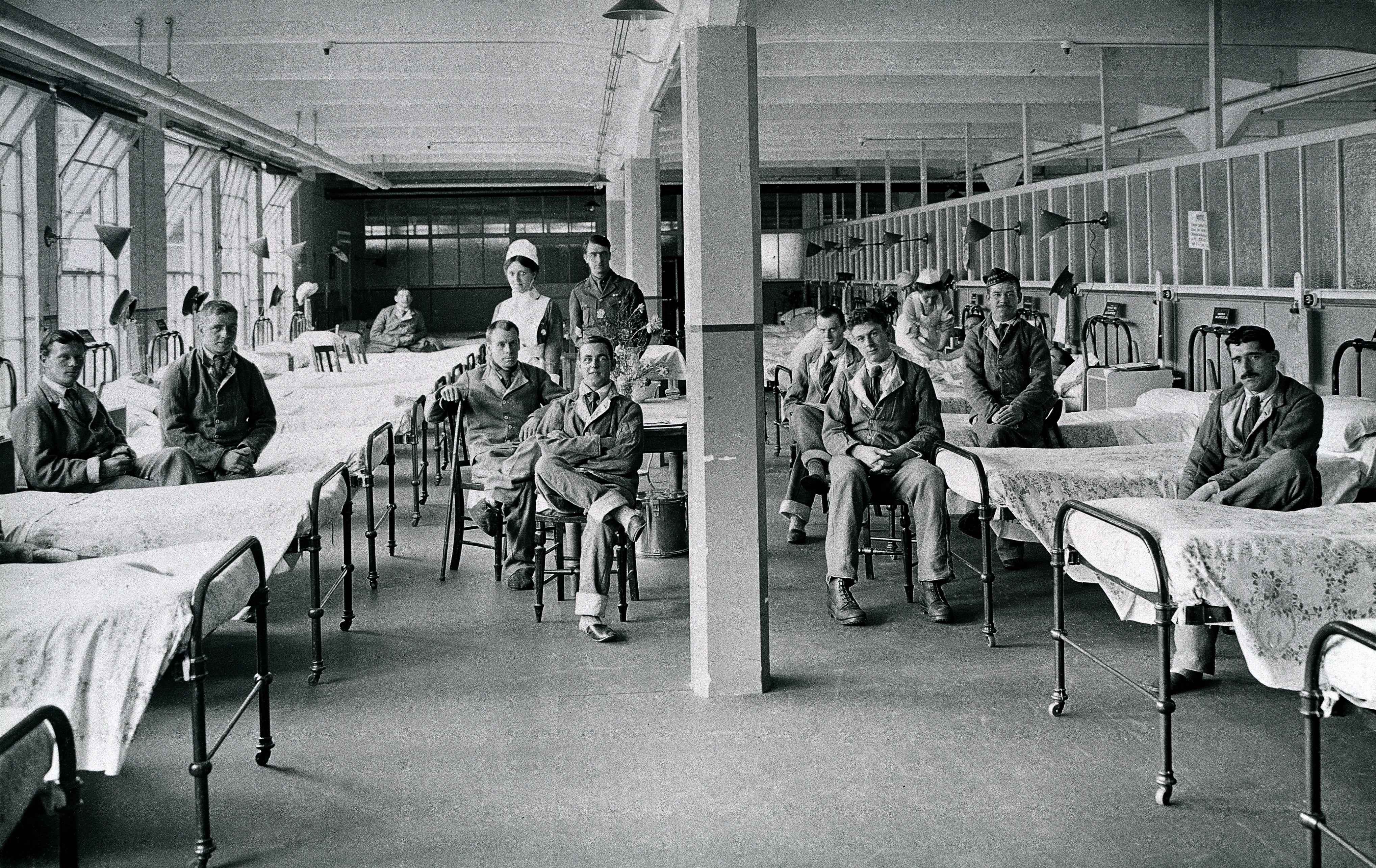Image result for HOSPITAL 1918