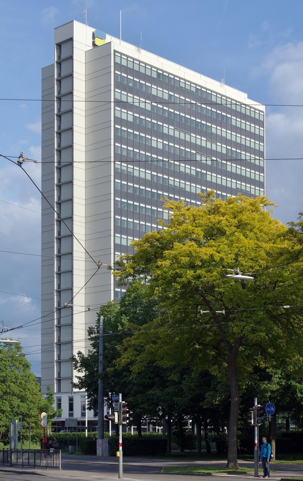 Hochhaus Karlsruhe